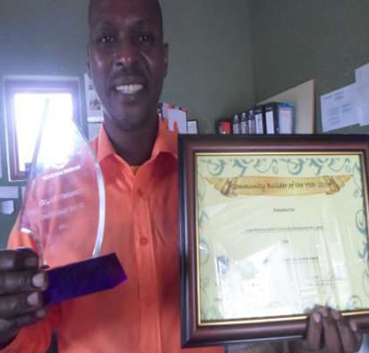 Somila Community Development Association Award