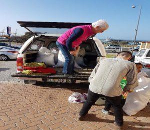 Addo community receiving donations